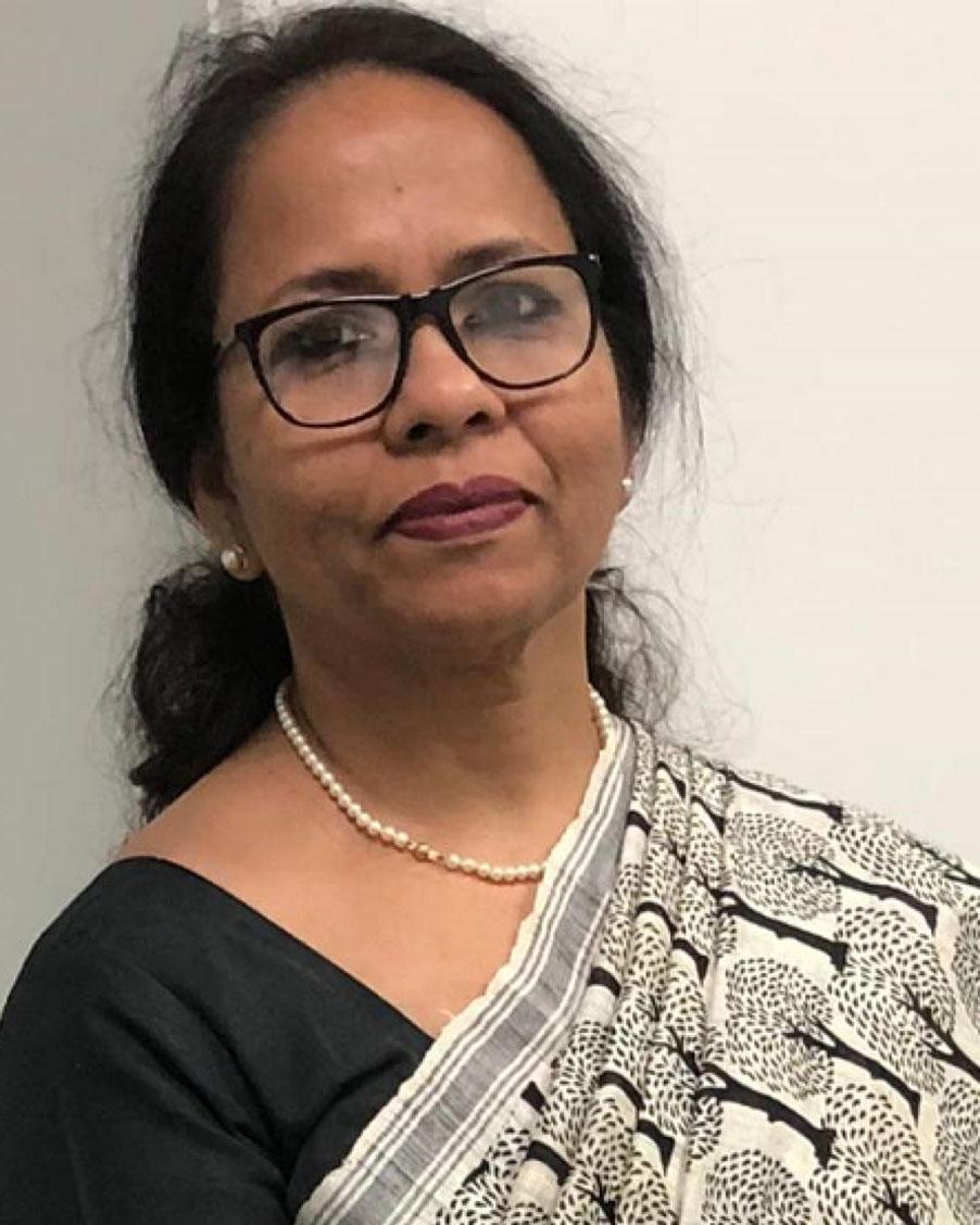 VINITHA GEORGE MATHEWS, Head of Finance and Administration at SIS International School in Dhaka, Bangladesh.